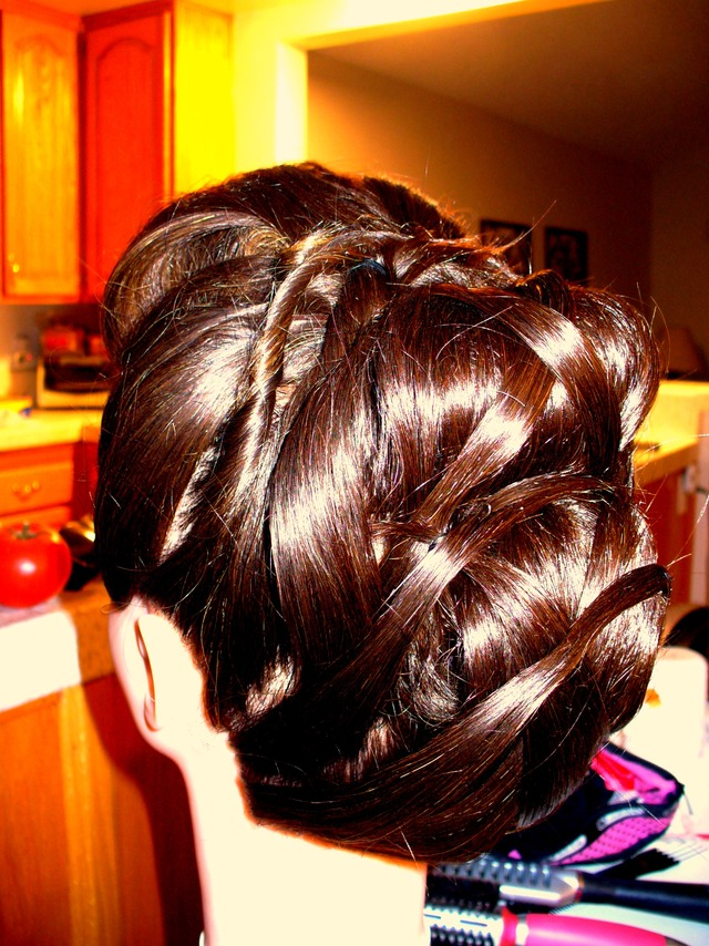 Full Fun Updo