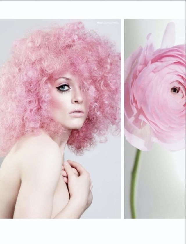 Flower inspired undo's for Georgie Magazine