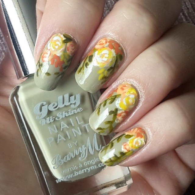 Freehand florals