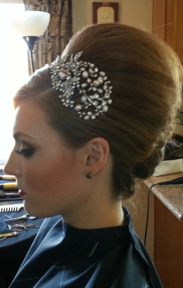 Bridal trial MUA-Jessica, Hair-Jeanne (Reign Artistry)
