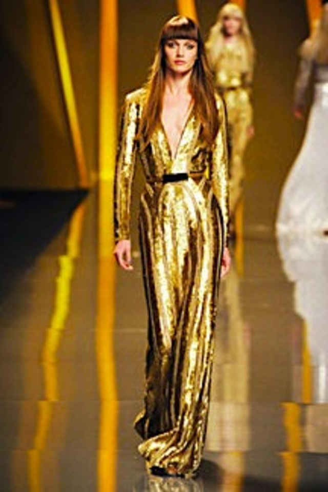 gold fashion trend