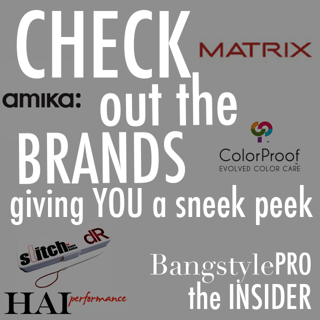 Are you in the know? Check out the INSIDER on BangstylePro!