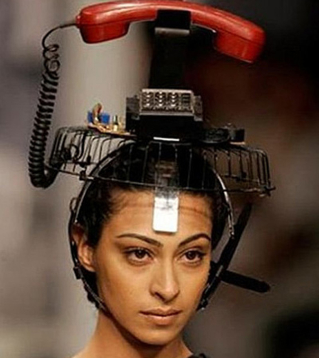 A telephone for your hair