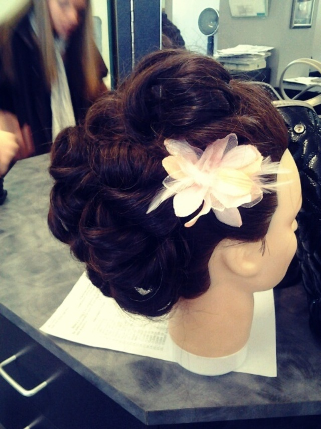prom/ wedding updo