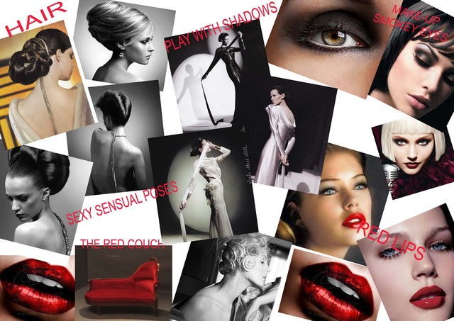 Red Carpet mood board