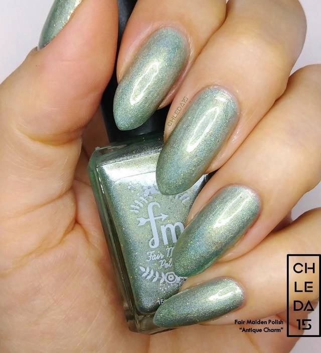 "Fair Maiden Polish ""Antique Charm"" Swatch"