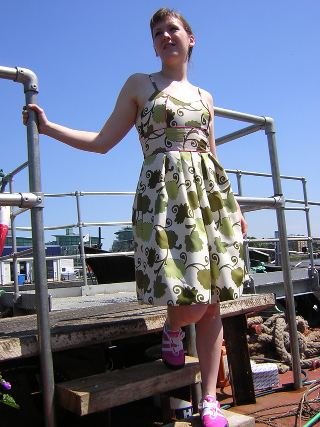 Glastonbury dress - front
