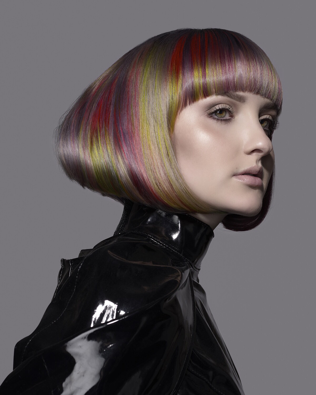 Colorzoom 16 Canadian New Talent National Silver Winner Hair: Connor LangeMakeup: Kelley CloneyPhotographer: Kale Friesen Model: Nina Müller