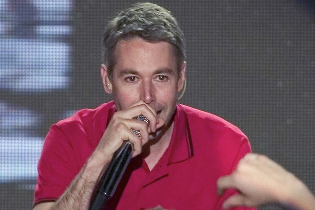 File photo of Adam Yauch of The Beastie Boys performing in Las Vegas