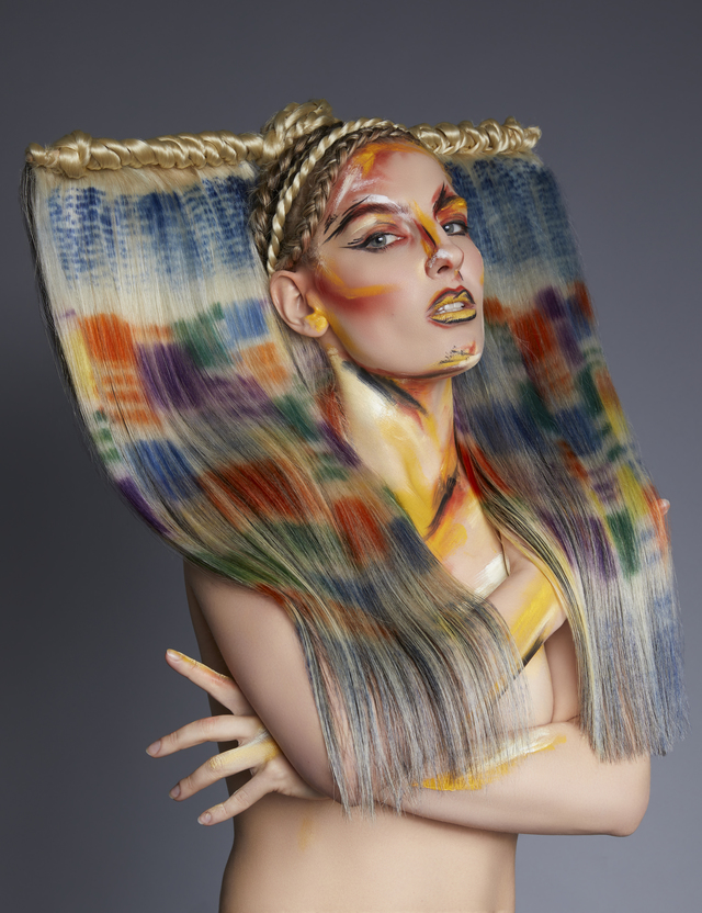 Mandy Rogers-Hunt & Gather hair company-neo impressionist collection image 3