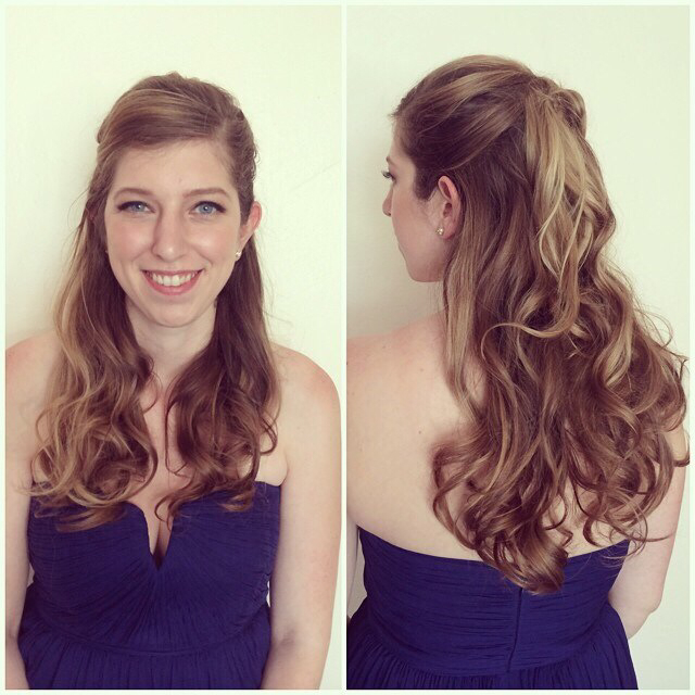 #updo #bridal #bridesmaid #wedding #hair #hairstyle #shellywilson #nomobosalon #nomobo #chicago #wickerpark #bangstyle
