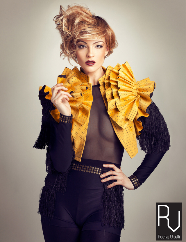Chic Collection photo Polk Liang hair Rocky Vitelli model kehli G