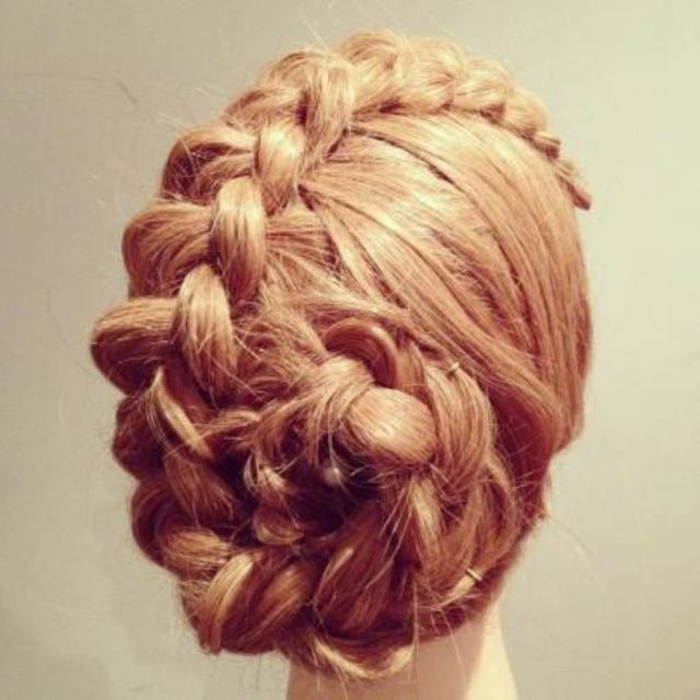 Dutch Braid Flower
