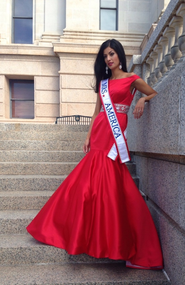 Mrs. America @ the Oklahoma state capitol