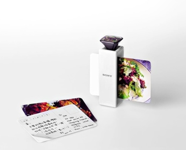 postcard food printer