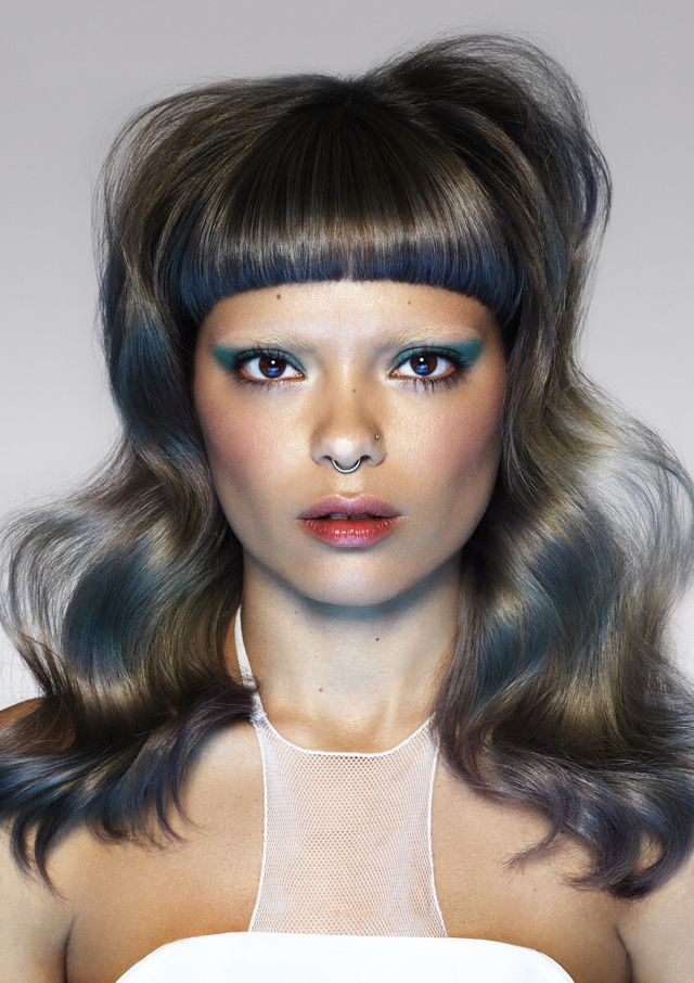 Color by Kyra  finalist for creative colorist of the year   cut style by Hermiz  finalist for Victorian hairdresser of the year  @joeyscandizzosalon  Photo karla majnari makeup Georgia Ramman   Styling Carlos Mangubat