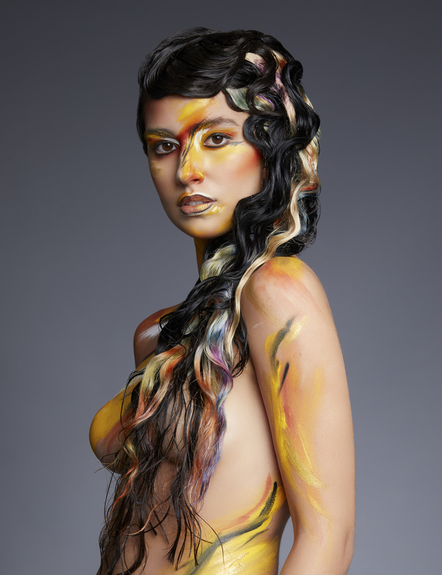 Mandy Rogers-Hunt & Gather hair company-Neo impressionist collection image 4