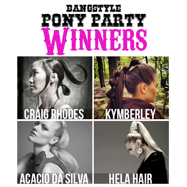 Congrats to the Pony Party Winners!