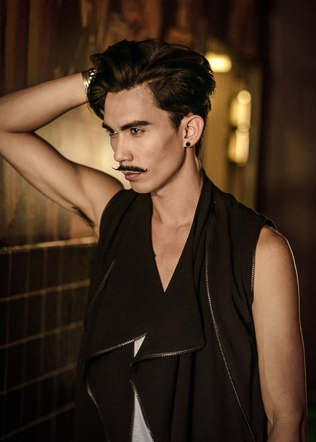 Men's hair collection Photographer: Kaye Rubi Model: Stephen Caldwell Face touch ups: Katherine Silulu