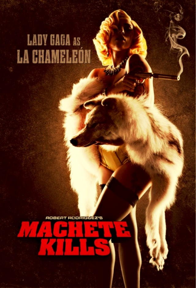 Lady Gaga Machette Kills