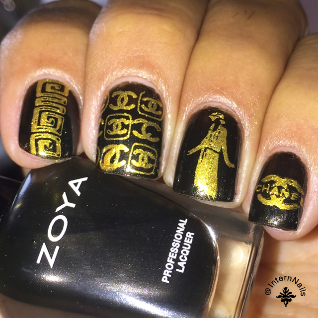 Chanel Nail Design Nailstyle