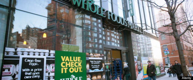The Whole Foods Market in the New York neighborhood of Tribeca on Wednesday, January 25, 2011. (© Richard B. Levine)