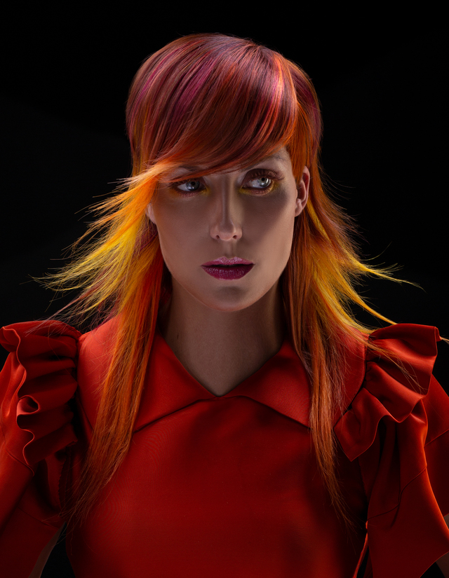 NAHA HAIRCOLOR FINALIST ,GEODE COLLECTION BY CAROLINE ROBITAILLE