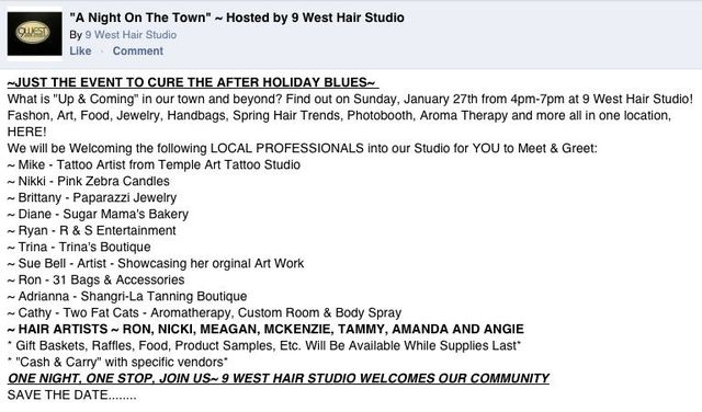 9 West Hair Studio