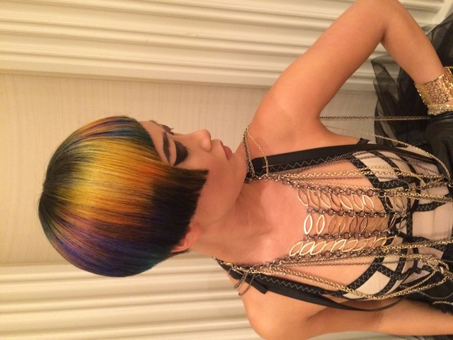 Sue Pemberton Intercoiffure Model for ICON'S of Color Award
