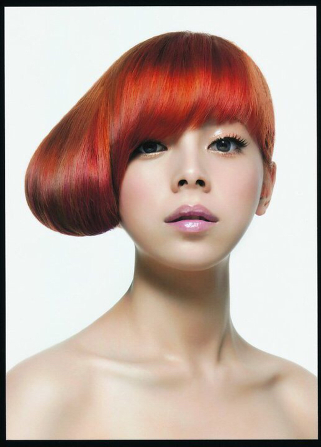 2010 Goldwell colorzoom young talend Global champions  Theme/Sun flower Photographer/Mark Lee Make-up/Tin Chen Special thx/Splendy