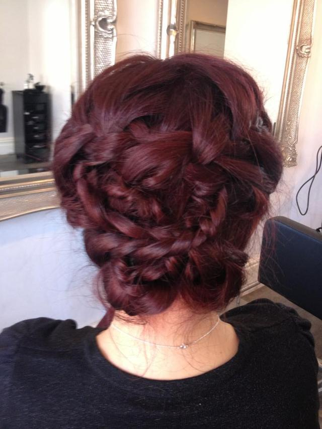 Fabulous plaits and twists hair up by Alanna