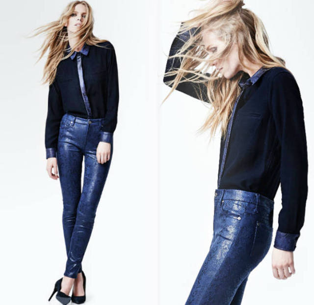 7 For All Mankind Jeans Fall/Winter 2014 Look Book 11