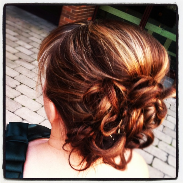 Fall Bridesmaid Updo