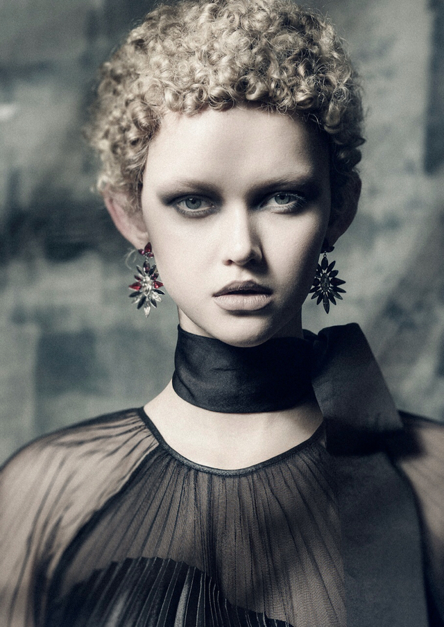 Hair: Michael Beel Photo:Jessica Sim Makeup:Kiekie Stanners Stylist:Dan Ahwa