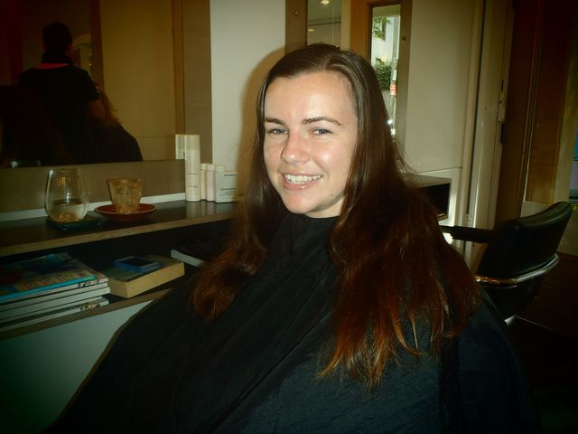 Kelsi - restyle, reshape, hair makeover - Super Deluxe Hair, Sydney - Great Haircuts, Colour and styles