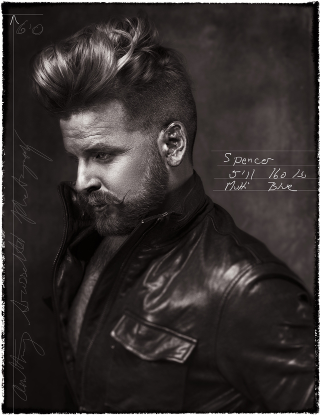 "NAHA 2015 ""Men's Stylist of the year"" Submission. Hair Cut/Style : Terry Graham Photography: Anthony Grassetti Photography Model: Spencer Easter"