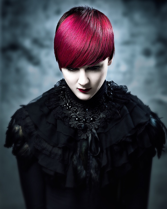 Hair Paul Stafford  Colour Aidan Bradley  Photograph Lee Mitchell