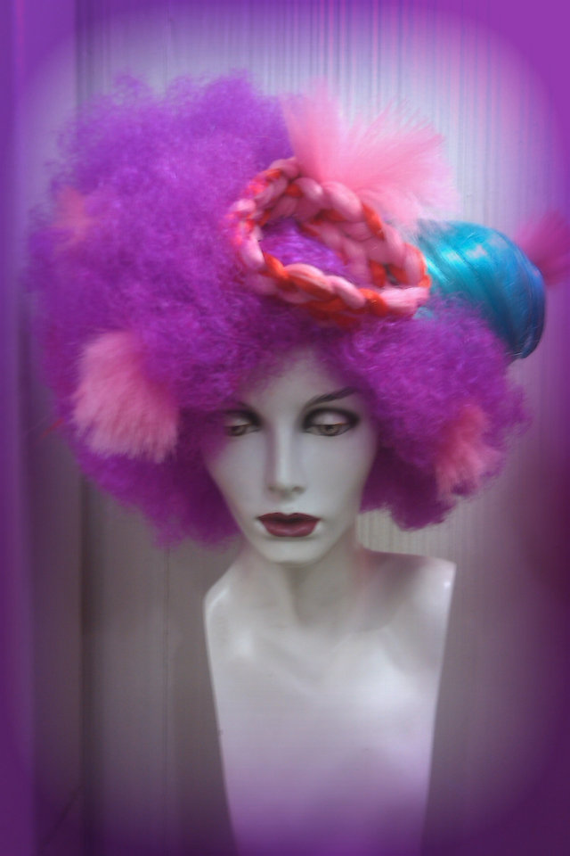 Custom Wig for Fashion Show