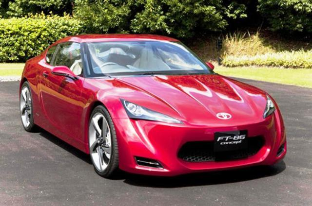 Convertible Toyota FT-86