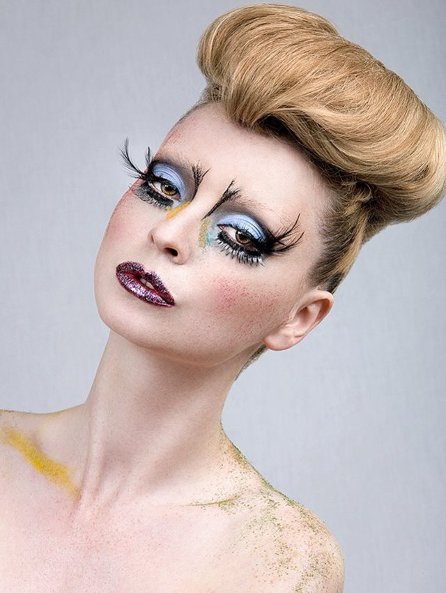 Beauty Editorial By Eugene Conde