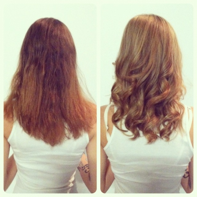 Color Correction(before/after) by jenniguccihair