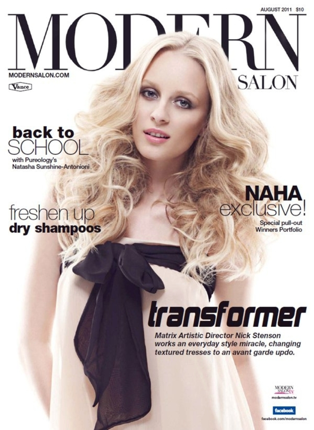Nick Stenson:  Modern Salon Cover - August 2011