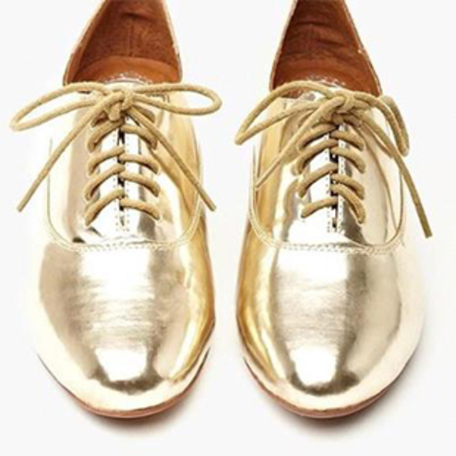 Jeffrey Campbell's Uniform Metallic Oxford
