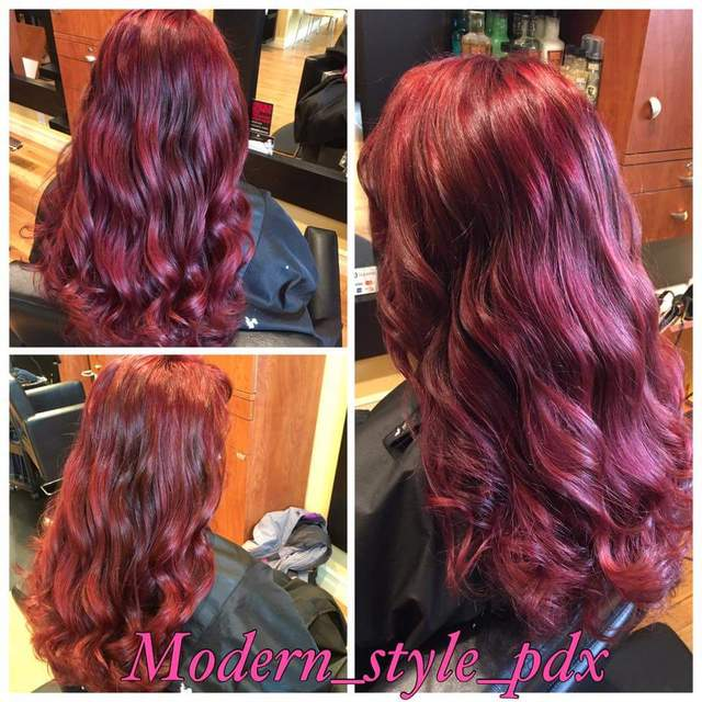 Hair by: Modern Style PDX