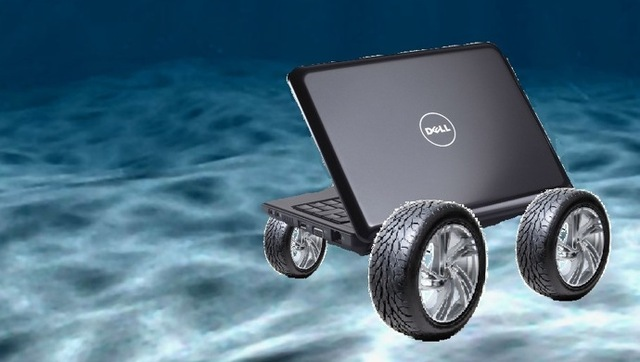 A Dell Adele Rolling in the Deep Bangstyle