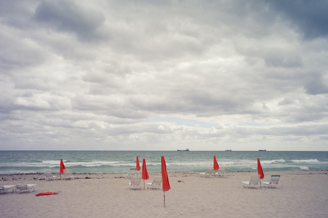 Adam Secore-Beach Day-78x58.5 in-Archival Inkjet Print