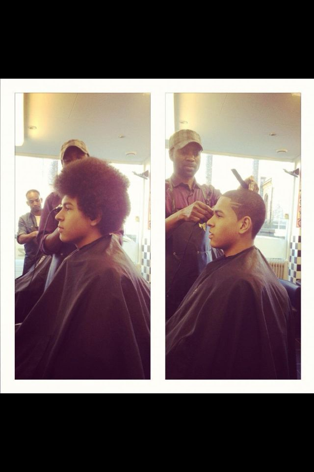 Afro to Shape-Up