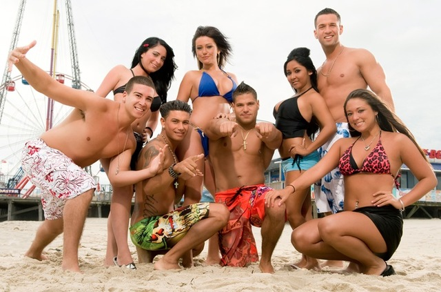 Bangstyle Jersey Shore