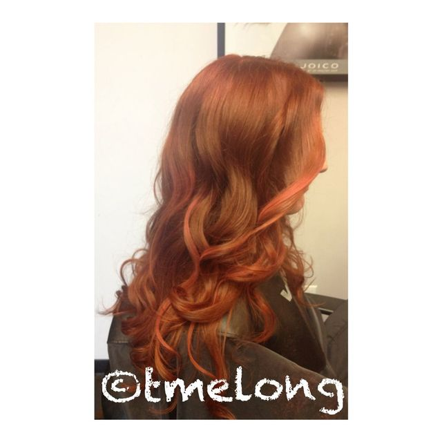 Beautiful. Long. Copper! Some fun with Kevin.Murphy Color Bug.