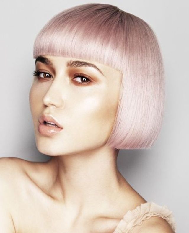 Beautiful Pink Bob